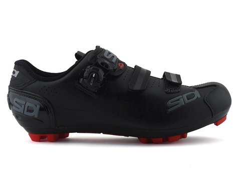 Sidi Trace 2 Mega Mountain Bike Shoes (Black/Black) (40)