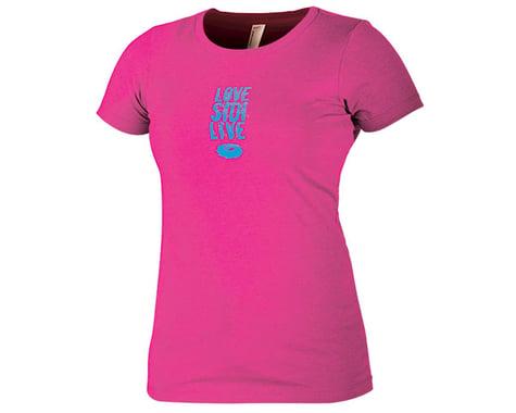 """Sidi """"Love Sidi Live"""" Women's T-Shirt (Pink) (XL)"""