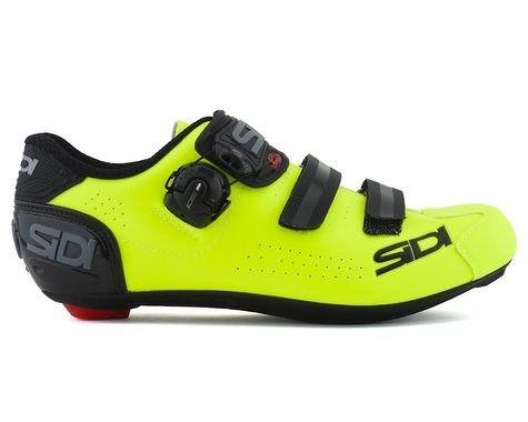 Sidi Alba 2 Road Shoes (Black/Flo Yellow)