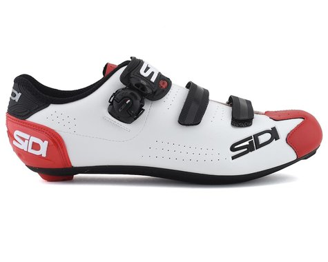 Sidi Alba 2 Road Shoes (White/Black/Red) (43)