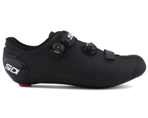 Sidi Ergo 5 Mega Road Shoes (Matte Black) (48)