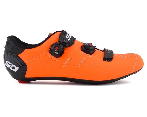 Sidi Ergo 5 Road Shoes (Matte Orange/Black) (46.5)