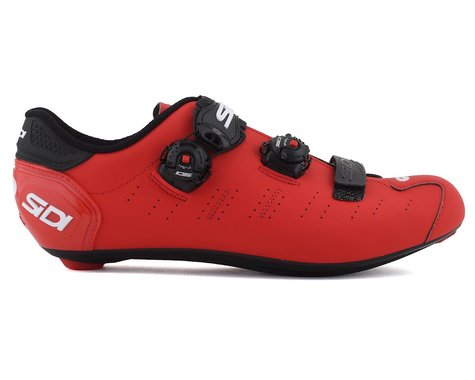 Sidi Ergo 5 Road Shoes (Matte Red/Black) (43.5)