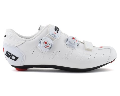 Sidi Ergo 5 Road Shoes (White) (42)