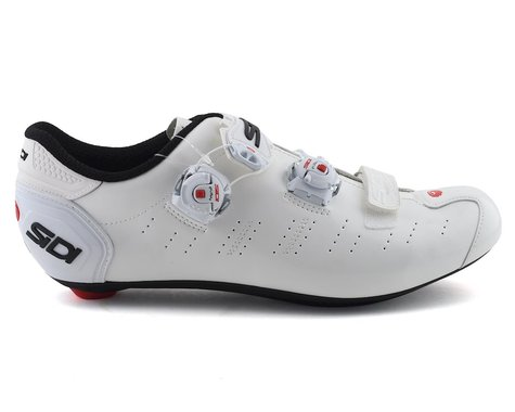 Sidi Ergo 5 Road Shoes (White) (42.5)