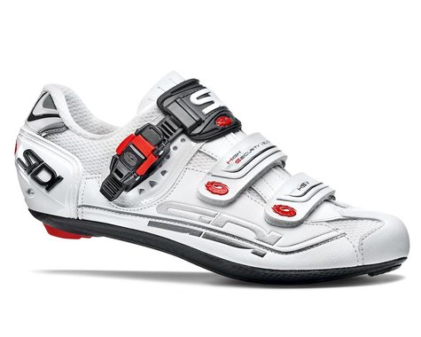 Sidi Genius Fit Carbon Road Shoes (White) (43.5)