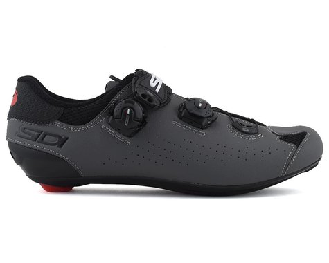 Sidi Genius 10 Road Shoes (Black/Grey) (46.5)