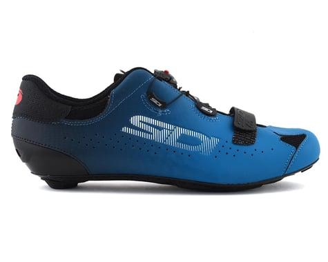 Sidi Sixty Road Shoes (Black/Petrol) (46.5)