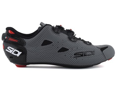 Sidi Shot Air Road Shoes (Matte Black/Matte Grey) (43.5)