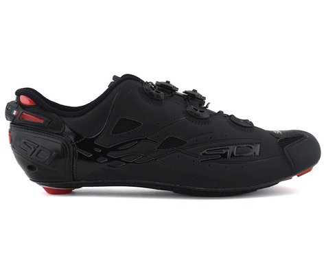 Sidi Shot Road Shoes (Total Matte Black) (44.5)