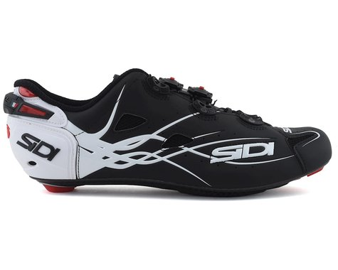 Sidi Shot Road Shoes (White/Matte Black) (42)