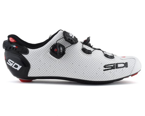Sidi Wire 2 Carbon Air Road Shoes (White/Black) (48)