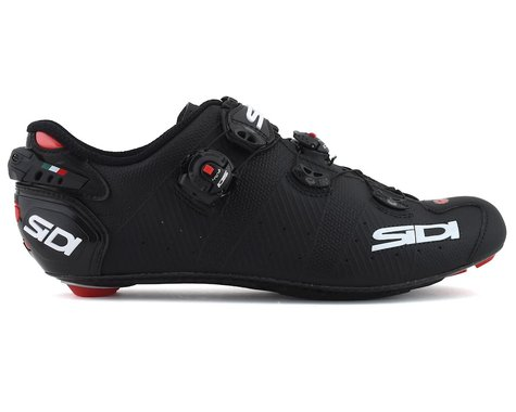 Sidi Wire 2 Carbon Road Shoes (Matte Black) (46)