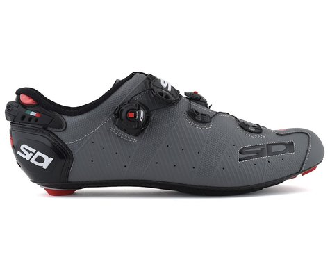 Sidi Wire 2 Carbon Road Shoes (Matte Grey/Black) (42)
