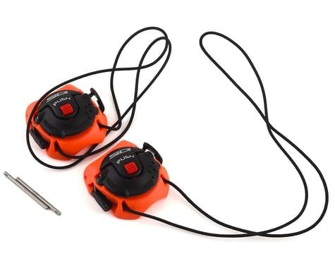 Sidi Tecno-3 Push Buckles (Orange/Black) (Long)