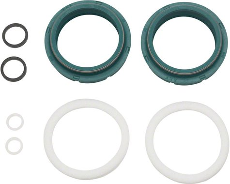 Skf Low-Friction Dust Wiper Seal Kit: Fox 40mm, Fits 2005-2015 Forks