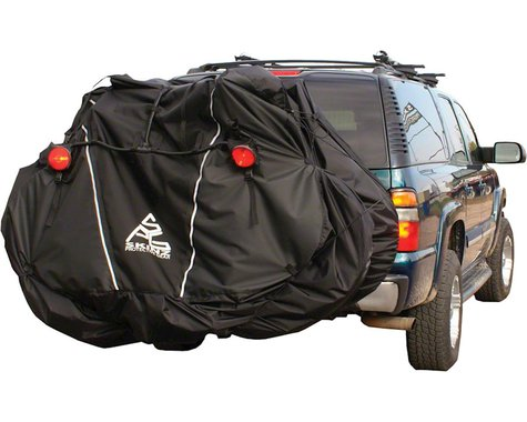 Skinz Hitch Rack Rear Transport Cover w/ Light Kit (Fits 1-2 Bikes)