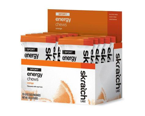 Skratch Labs Sport Energy Chews (Orange) (10 1.7oz Packets)