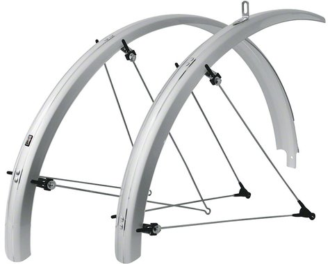 SKS B53 Commuter II Fender Set (Silver) (Fits 700 x 38-47)