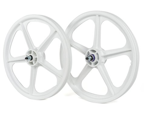"Skyway Tuff Wheel II 20"" Wheel Set (White) (3/8"" Axle) (20 x 1.75)"