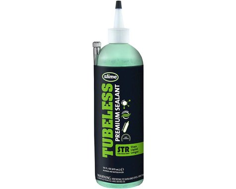 Slime Premium STR Tubless Tire Sealant (16oz)