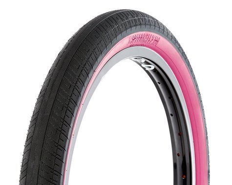 "S&M Speedball Tire (Black/Pinkwall) (20"") (2.1"")"