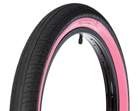 S&M Speedball Tire (Black/Pinkwall) (20 x 2.40)