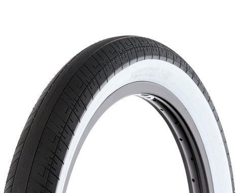 S&M Speedball Tire (Black/Whitewall) (20 x 2.40)