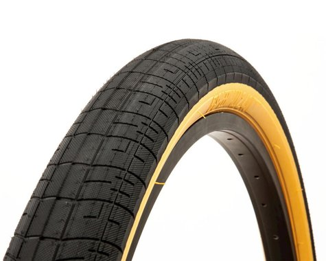 "S&M Speedball Tire (Black/Tanwall) (22"") (2.25"")"