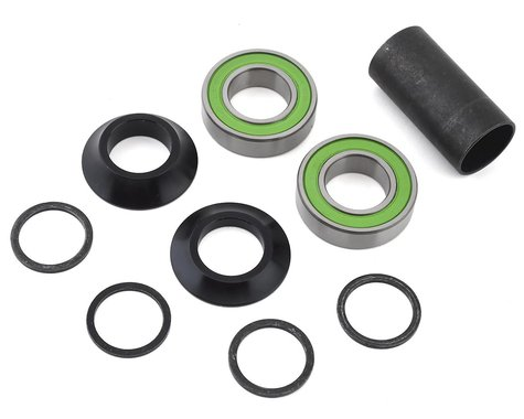 S&M Mid Bottom Bracket Kit (Black Cones) (22mm)