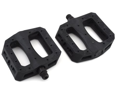 "S&M BTM Pedals (Mike Hoder) (Pair) (Black) (9/16"")"