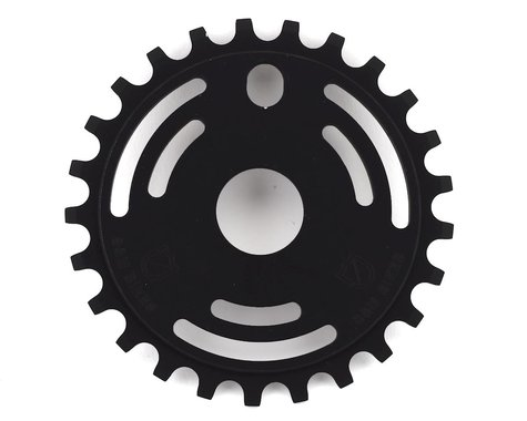S&M Drain Man Sprocket (Matte Black) (25T)