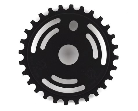 S&M Drain Man Sprocket (Matte Black) (28T)