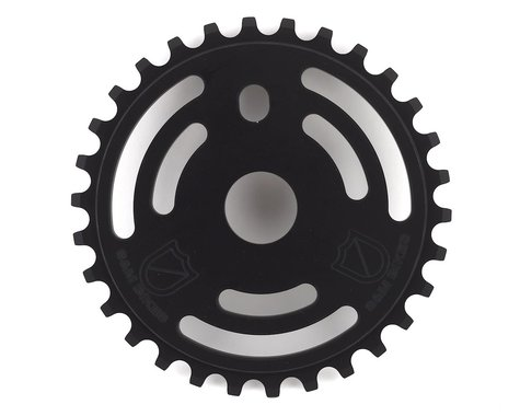 S&M Drain Man Sprocket (Matte Black) (30T)