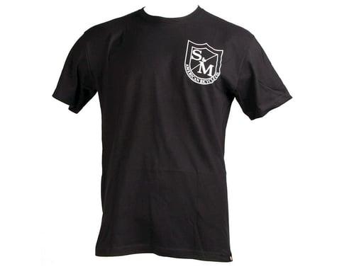 S&M Two Shield T-Shirt (Black/White) (2XL)