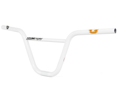 "S&M Race XLT Bars (White) (8.25"" Rise)"