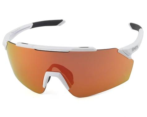 Smith Ruckus Sunglasses (Matte White) (Chromapop Red Mirror)