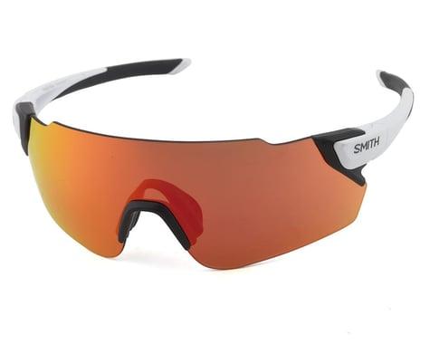 Smith Attack Max Sunglasses (Matte White) (ChromaPop Red Mirror)