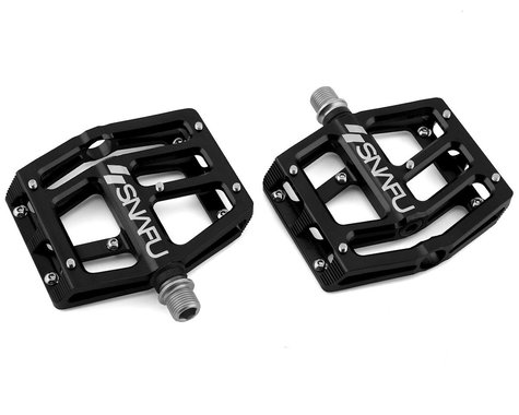 "Snafu Anorexic Pro Pedals (Black) (9/16"")"