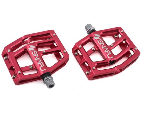 """Snafu Anorexic Pro Pedals (Red) (9/16"""")"""
