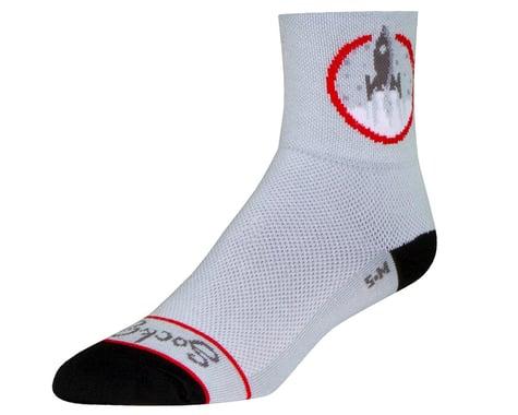 "Sockguy 3"" Socks (Afterburners) (S/M)"