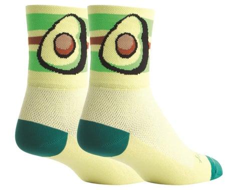 """Sockguy 4"""" Socks (Avocado) (L/XL)"""