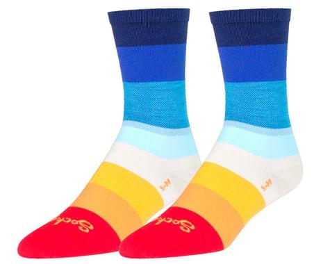 """Sockguy 6"""" Socks (70's) (L/XL)"""