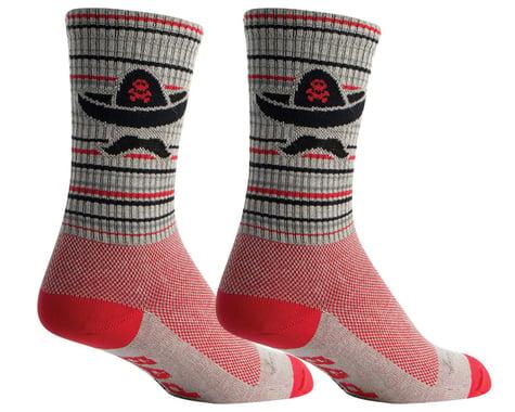"""Sockguy 6"""" Socks (Bad Hombre) (L/XL)"""