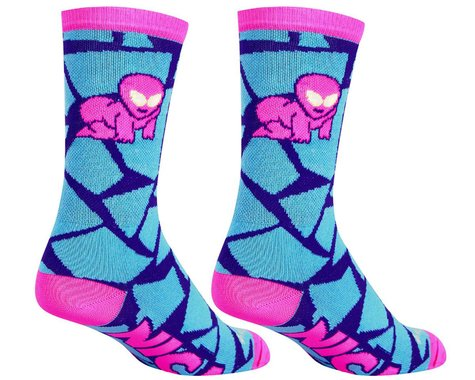 "Sockguy 6"" Socks (NICA Alien) (S/M)"