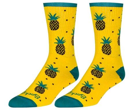 """Sockguy 6"""" Socks (Pineapple) (S/M)"""