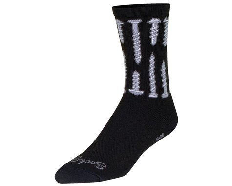 "Sockguy 6"" Socks (Screw It) (L/XL)"