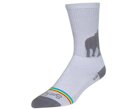 """Sockguy 6"""" Socks (Spread Luv) (S/M)"""