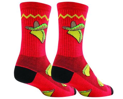"""Sockguy 6"""" Socks (Taco Tuesday) (L/XL)"""