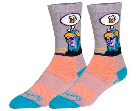 "Sockguy 6"" Socks (Thirsty) (S/M)"